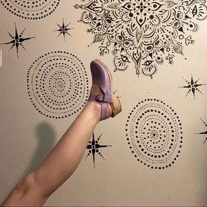 Vintage Lavender Clogs